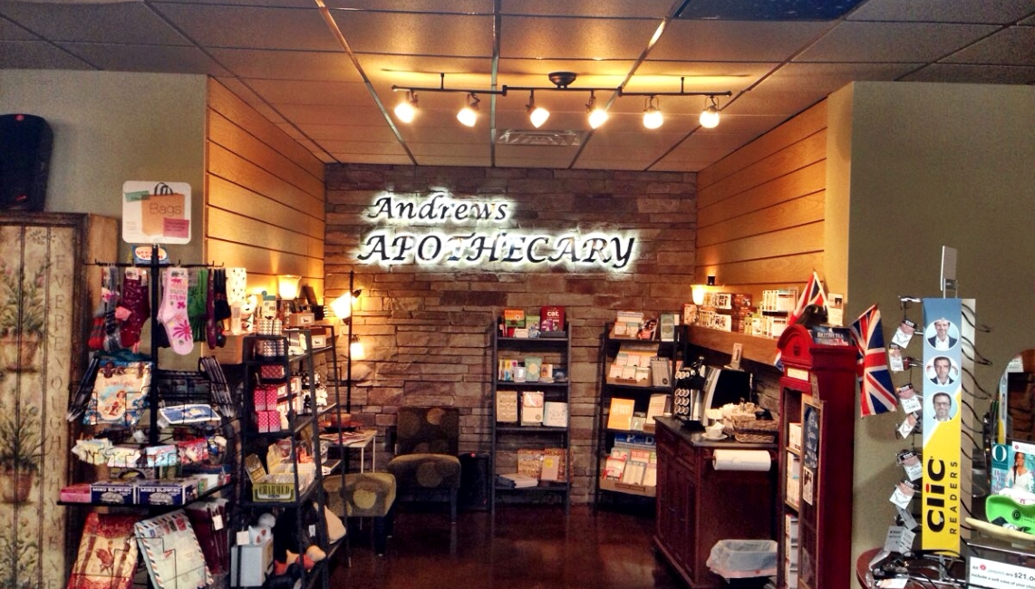 andrews apothecary shop