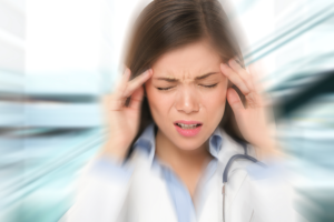 woman experiencing chronic fatigue